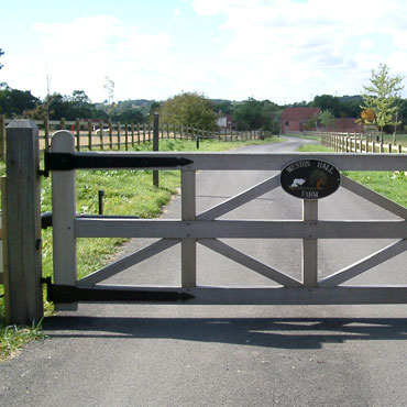 Wooden Gates made to measure, bespoke, UK