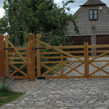 Prestige Wooden Gates, Hand made bespoke