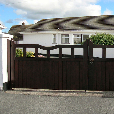 Prestige Wooden Gates, Hand Made in UK