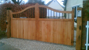 Town Driveway Gate, Made to measure UK