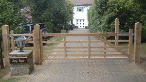 Bespoke, Made to measure wooden Field Gates UK